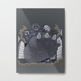 Daww'zilla Metal Print