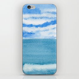 Lively Sky Wave iPhone Skin