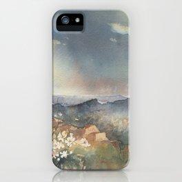 Desert Poppy iPhone Case