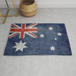 The National flag of Australia, Vintage version Rug