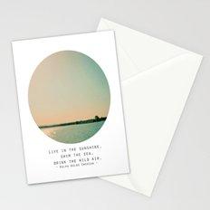 Swim The Sea Stationery Cards