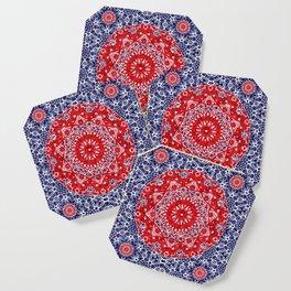 Maltesse Mandala Bandana Coaster