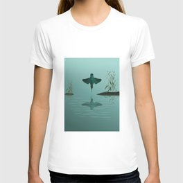 Diving into the water T-shirt