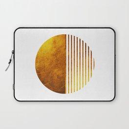 Gold Sun Laptop Sleeve