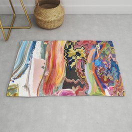 Abstracted Paintings Rug