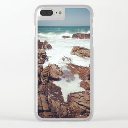 West Coast rocks Clear iPhone Case