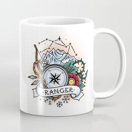 Ranger - Vintage D&D Tattoo Coffee Mug