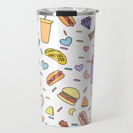 Fast food & Shakes Travel Mug