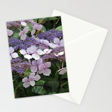 Hydrangea Violet Hues Stationery Cards