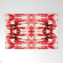 Tie-Dye Chili Welcome Mat
