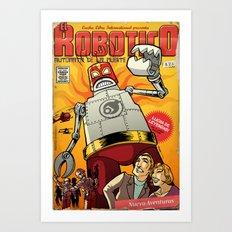 El Robotico Art Print