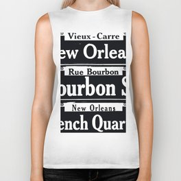 NEW ORLEANS FRENCH QUARTERS Biker Tank