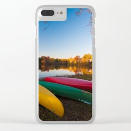 A row of color - Photos Clear iPhone Case