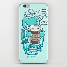 Scribbles: DO THE THING iPhone Skin