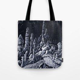 Stalagmites Tote Bag
