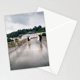 Padlock bridge in Salzburg Stationery Cards
