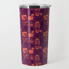 The Reichenbach Fall Travel Mug