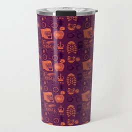 The Reichenbach Fall Travel Mug