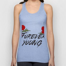 Forever young Unisex Tank Top