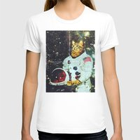 the xx T-shirts featuring xX SPACE CAT Xx by Frankie White