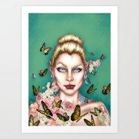 Alt Fairy -Siren Series  Art Print