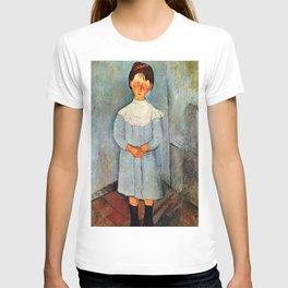 "Amedeo Modigliani ""Little girl in blue"" T-shirt"