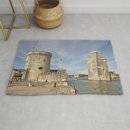 France Tower La Rochelle, Old port, Charente-Maritime Bay Cities towers Rug