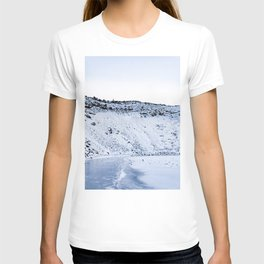 Kerid Crater In Winter, Iceland T-shirt