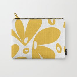 flower petals - yellow Carry-All Pouch