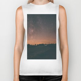 Starry Night I Biker Tank