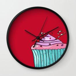 cupcacke Wall Clock