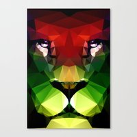 pride Canvas Prints featuring Pride by Three of the Possessed