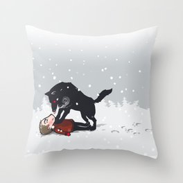 snowtime Throw Pillow