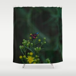 Flower photography by Gabriel Shower Curtain