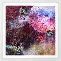 Lunar Strain Art Print