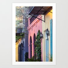East Bay Street 1 Art Print
