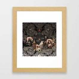 Night Club Framed Art Print