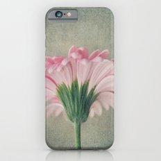 Flat Pink Gerbera Textured iPhone 6s Slim Case