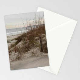 Beach Dunes with Sea Oats Stationery Cards