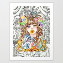 Prisila Art Print