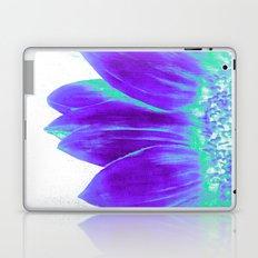 Sunflower Bright Violet & Mint Green Laptop & iPad Skin