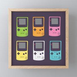 Game Boy Framed Mini Art Print