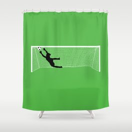 Leaping Keeper Shower Curtain