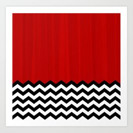 Twin Peaks - The Red Room Art Print