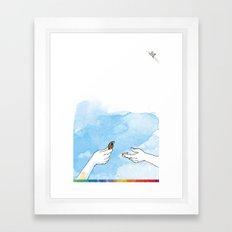 you're COLOR - Page 1 Framed Art Print
