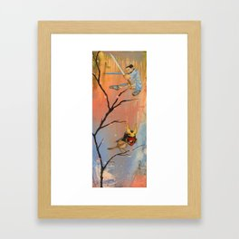 Secrecy and stealth Framed Art Print