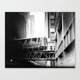 Chicago Skyway  Canvas Print