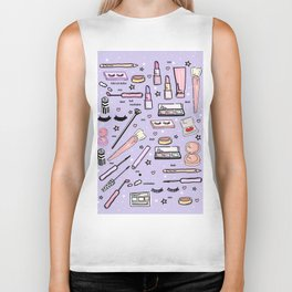 Purple Make Up Magic Biker Tank