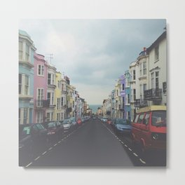 Brighton Houses Metal Print
