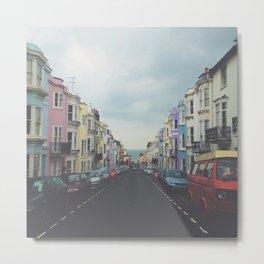 Brighton Houses Metal Print